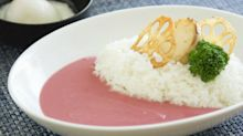 Japan Has Cherry Blossom Curry, and It's Pink