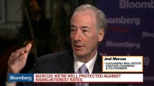 Alexandria Real Estate's Marcus on Interest Rates, Drug Pricing