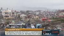 Aid efforts hampered in Philippines