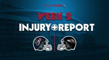 Texans vs. Ravens final injury report: 4 questionable for Houston