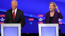Biden leads Warren in new poll with 34% support vs. her 19%