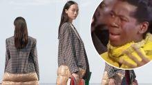 'Someone sack the designer': £2.5K Burberry coat ridiculed online
