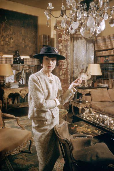 Coco Chanel所創造的時尚風格都是永恆的經典。