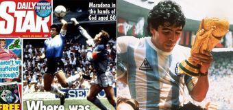 UK's 'disgusting' response to Maradona tragedy
