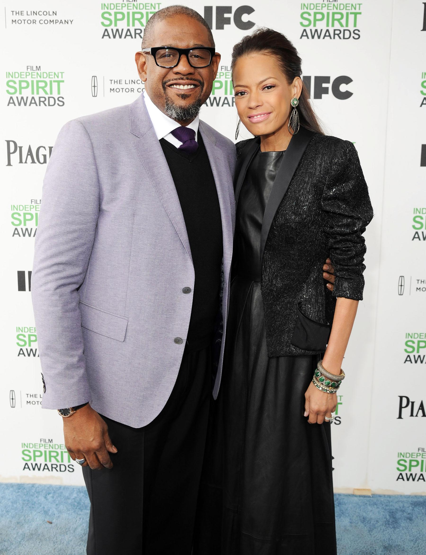 Forest Whitaker Files for Divorce from Wife Keisha Nash ...