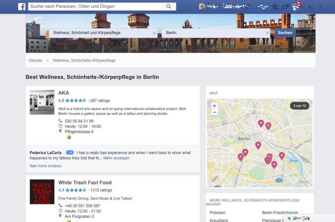 Facebook experimentiert mit Restaurant-Bewertungen, Yelp-Aktie schmiert ab