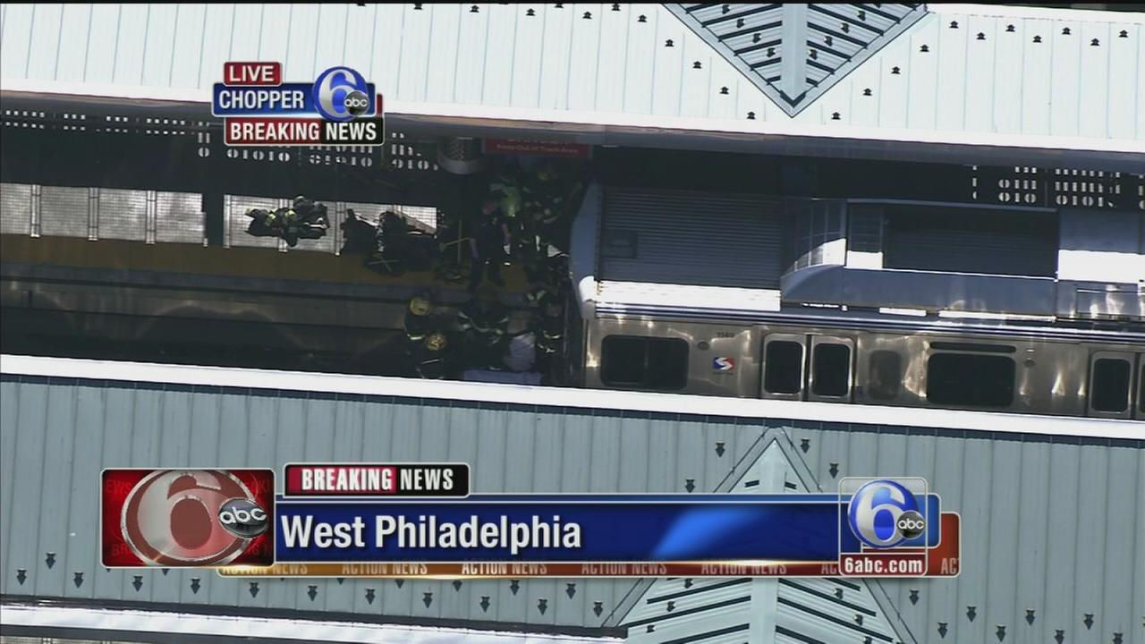Man died after jumping in front of train in West