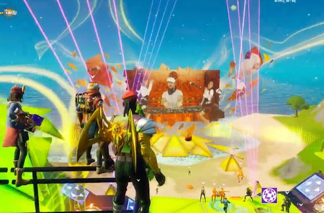 Diplo hosts live Major Lazer set in Fortnite's Party Royale mode