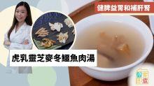 【湯水食譜】虎乳靈芝麥冬鱷魚肉湯 健脾益胃補肝腎