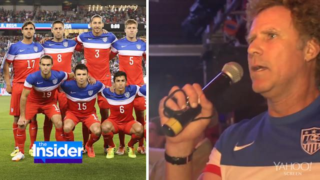 Will Ferrell Delivers Hilarious Speech at World Cup Pep Rally