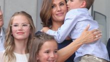 Jennifer Garner: Familientreffen beim Walk of Fame