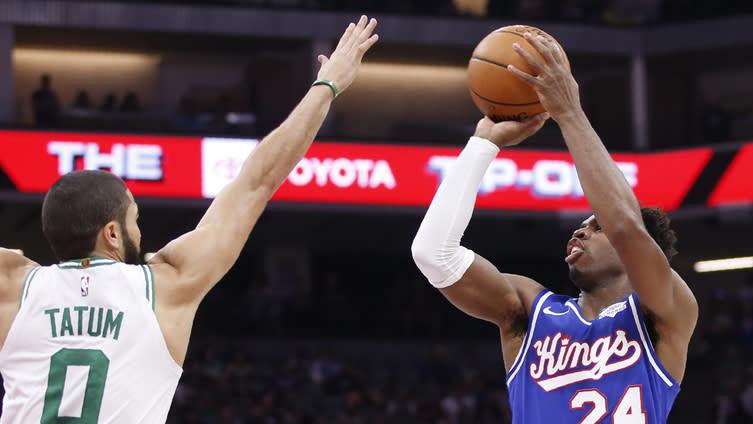 NBA Highlights: Buddy Hield, Sacramento Kings snap Celtics' win streak at 10