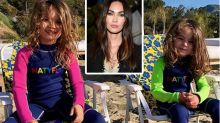 Megan Fox mum-shamed over her sons' long hair
