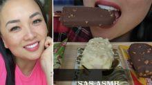 SAS- ASMR la youtuber que triunfa haciendo ruido al comer