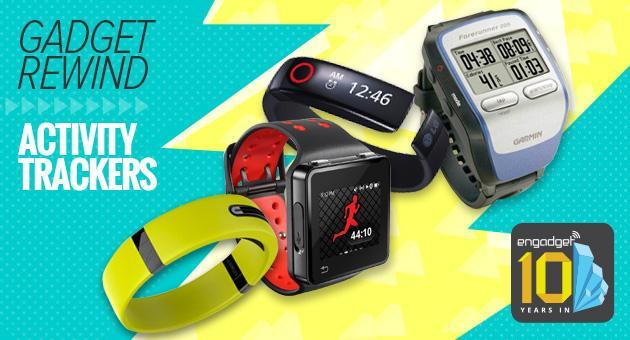 Gadget Rewind: Fitness and activity trackers
