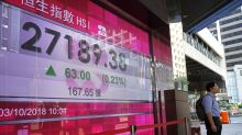 Asian shares mostly fall on weak Japan data, US-China trade