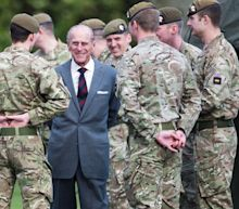 The military detachments with links to Prince Philip taking part in the Duke's funeral