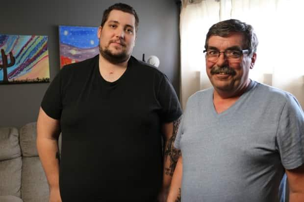 Fort McMurray father and son recovering after waking from month-long comas due to COVID-19