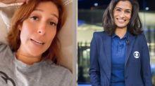 "Mulher de William Bonner sobre Renata Vasconcellos: ""Um crush nela"""