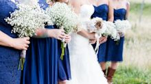Bride splits opinion after telling pregnant bridesmaid not to hold her baby bump in wedding photos