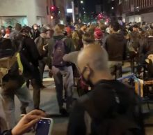 Protesters Break Into Dance During Oakland George Floyd Rally