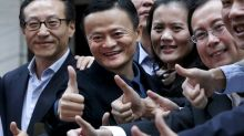 Alibaba overtakes Facebook as world's sixth-most valuable company after shares soar by 10 per cent in Hong Kong