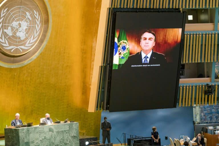 Brazil victim of 'brutal disinformation' on Amazon: Bolsonaro