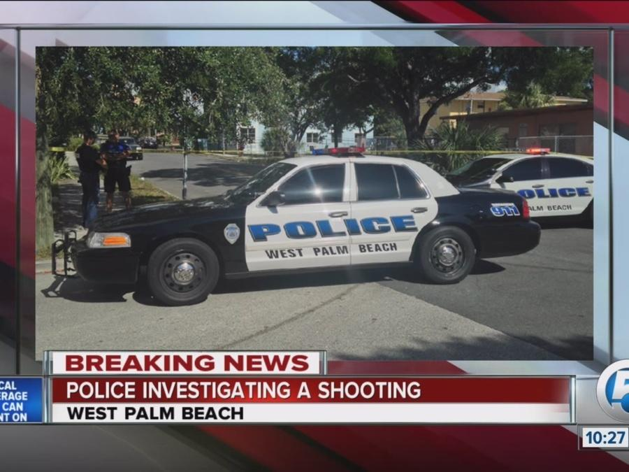 Man shot in West Palm Beach then involved in crash en route to hospital