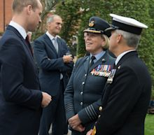 Prince William attends opening of new Defence Centre