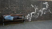 Nach Stunden verschandelt: Banksy enthüllt neues Werk
