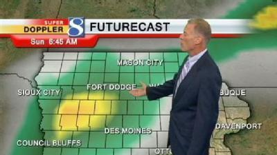 Video Forecast: Rain For The Weekend