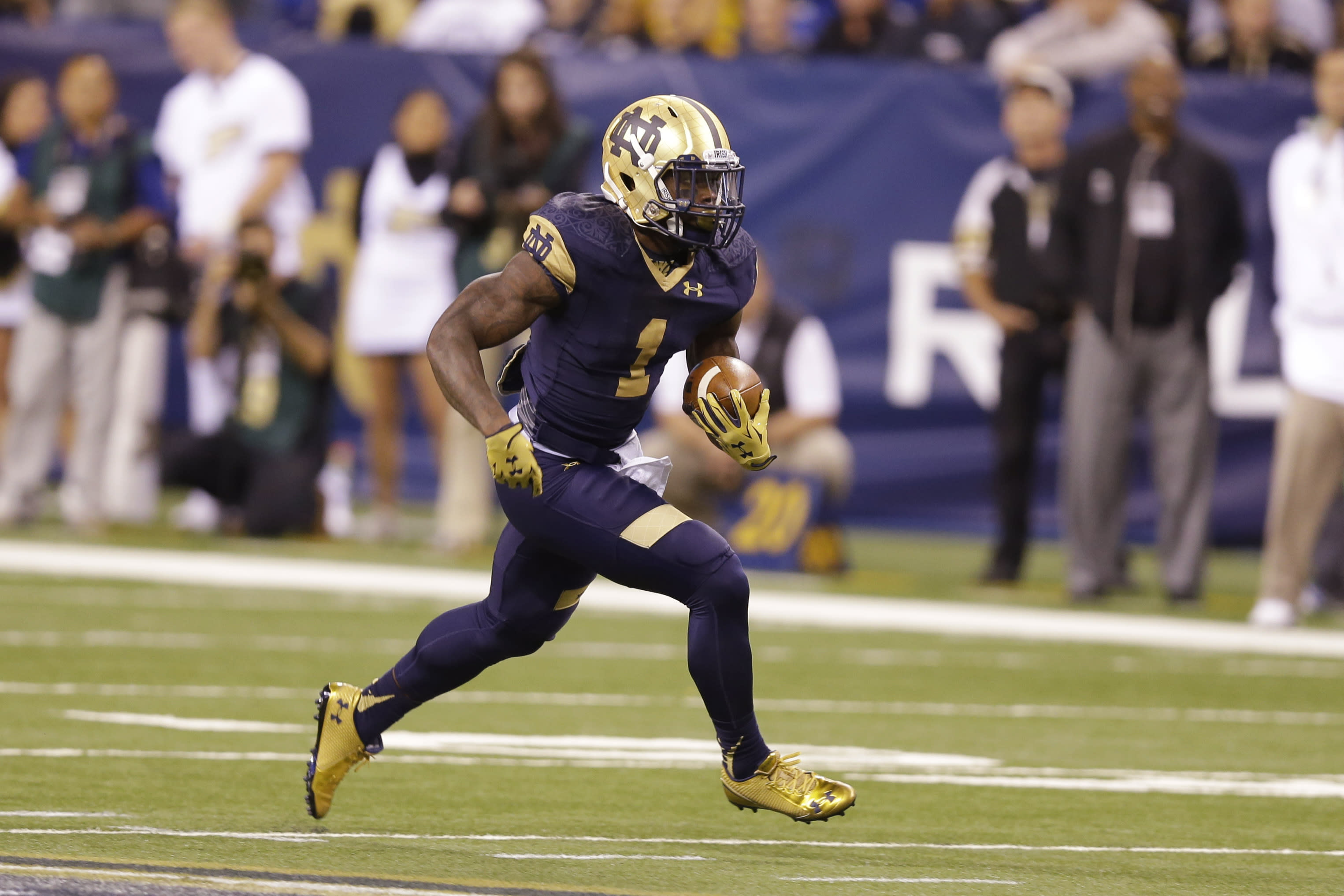 Notre Dame Declares Rb Greg Bryant Ineligible For 2015