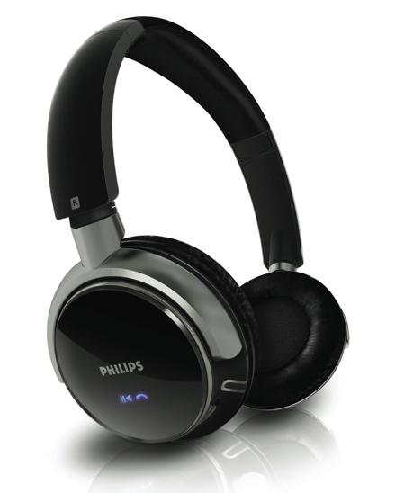 Philips launches SHB9000 Bluetooth headset