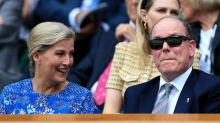 Royals caught giggling in the stands at Wimbledon