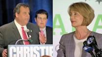 Christie, Buono win gubernatorial primaries in NJ