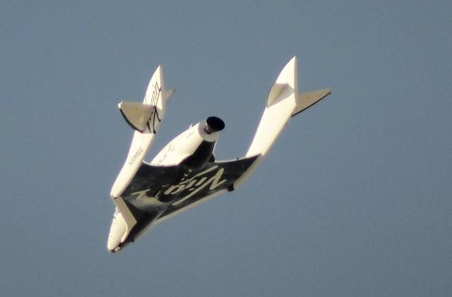 Virgin Galactic completes first powered test flight since 2014 crash