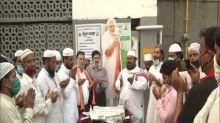 Delhi's Muslim community celebrates PM Modi's 70 birthday at Nizamuddin Markaz