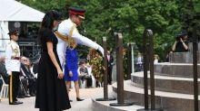 Los duques de Sussex inauguran la ampliación de un memorial militar en Australia