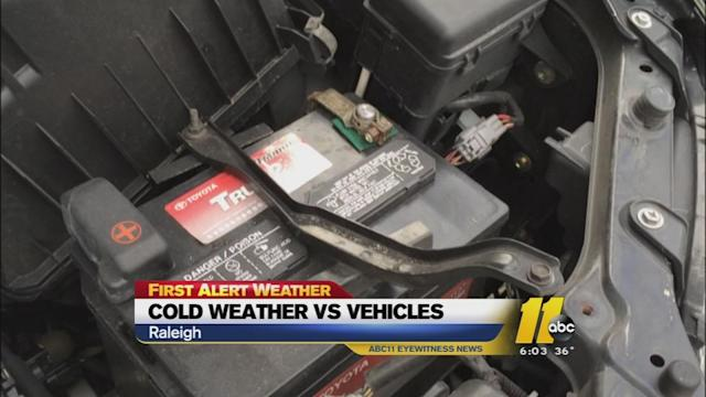Cold weather to grip area overnight, Tuesday
