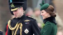 Pregnant Kate Middleton Is St. Patrick's Day Perfect — See the Festive Photos