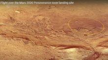 Marte. Cómo es el lugar en el que descenderá el rover enviado por la NASA