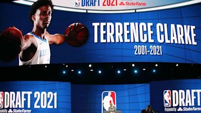 NBA honors Clarke with ceremonial draft pick