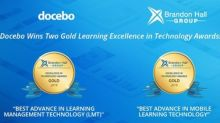 Docebo Wins 2 Gold 2019 Brandon Hall Group Excellence Awards