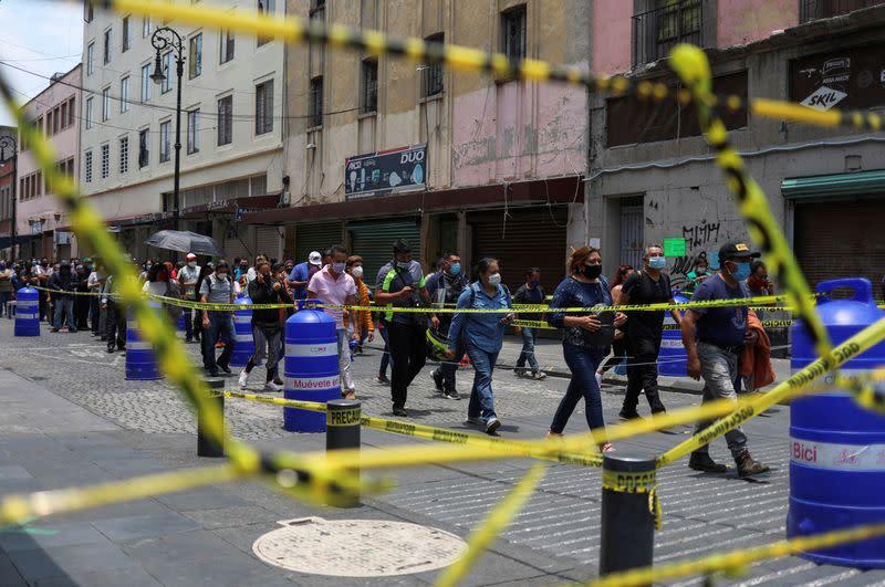 Mexico posts record 7,280 new coronavirus cases