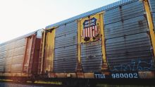 Union Pacific: Highest Rail Traffic Decline in Week 22