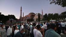 Papa lamenta conversão de Santa Sofia em mesquita