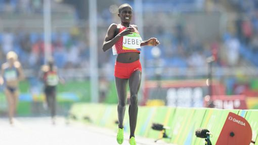 Jebet smashes steeplechase world record