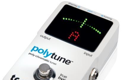 TC Electronic PolyTune tunes all your strings at once