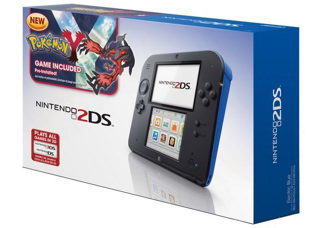 Nintendo's first 2DS bundles include Pokemon, arrive December 6th for $150