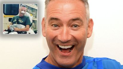 Blue Wiggle rushed to hospital after accident